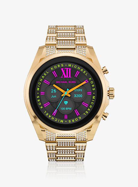 Умные часы Bradshaw Pavé Gold-Tone 6 поколения Michael Kors
