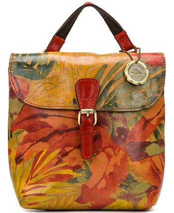 Небольшой кожаный рюкзак-трансформер Vatoni Patricia Nash