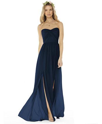 Платье без бретелек Social Bridesmaids