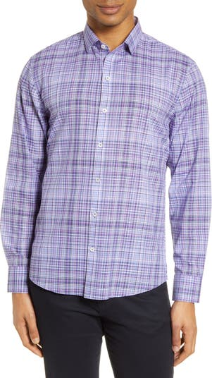 Классическая клетчатая рубашка на пуговицах Zachary Prell