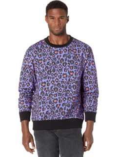 Jaguar Print Crew Neck Sweatshirt Just Cavalli