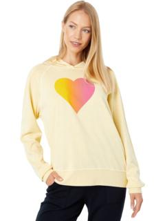 Толстовка с капюшоном Ombre Heart Sundry
