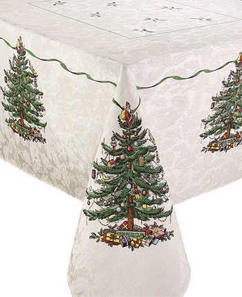Скатерть Christmas Tree Ivory / Green 60x84 Spode