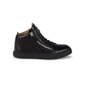 Side-Zip High-Top Sneakers Giuseppe Zanotti