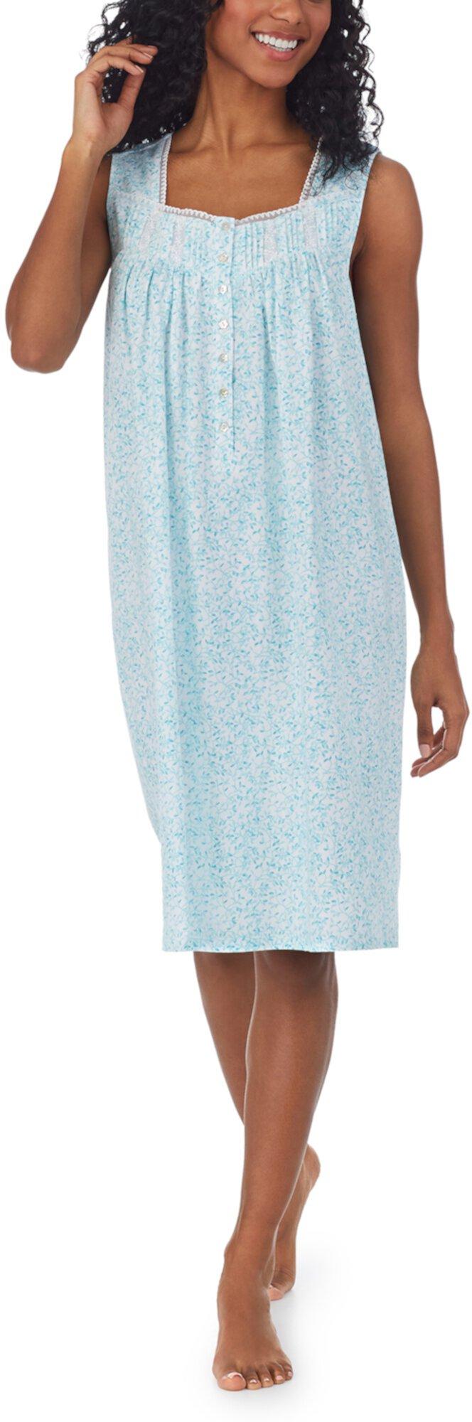 Cotton Knit Sleeveless Chemise Eileen West