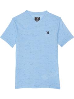 Тройная футболка с V-образным вырезом Cloud Slub (Big Kids) Hurley Kids