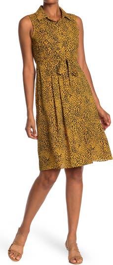 Платье без рукавов с леопардовым принтом Nanette nanette lepore