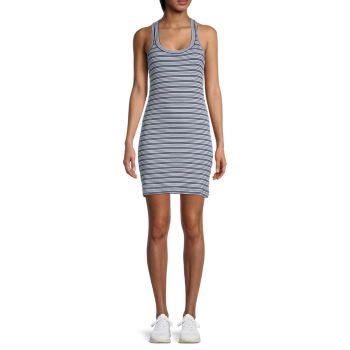 Midnight Striped Tank Dress Splendid