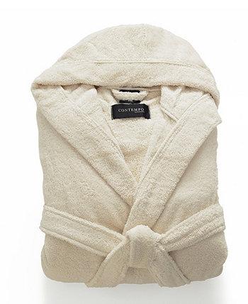 Турецкий махровый халат с капюшоном Cassadecor