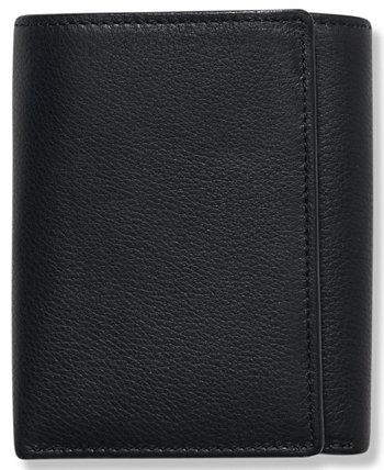 Портфель мужской кожаный Park Avenue Trifold Wallet Perry Ellis Portfolio