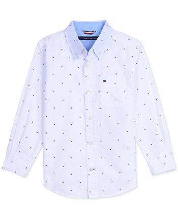 Рубашка с логотипом для малышей Tommy Hilfiger