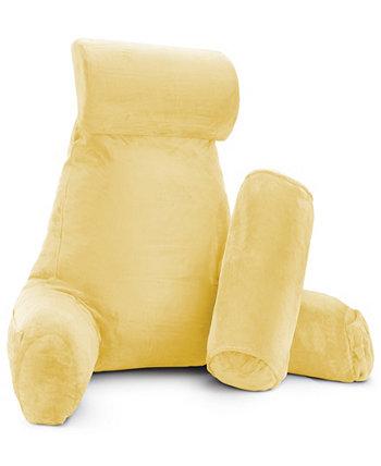 Мягкий велюровый чехол Набор подушек для спинки для чтения, очень большой Nestl Bedding