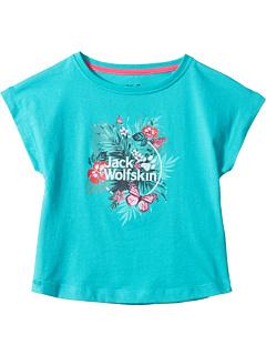Тропическая футболка (младенец / малыш / маленькие дети / большие дети) Jack Wolfskin Kids