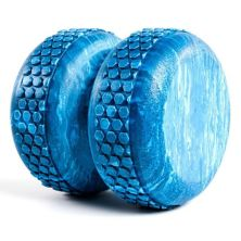 Power Systems 80675 Textured 6 Inch Myo-Roller Massage Therapy Aid, Blue Marble Power Systems