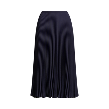 Pleated Georgette Skirt Ralph Lauren