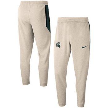 Men's Nike Cream Michigan State Spartans Logo Spotlight Pants Nike