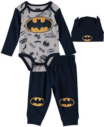 Комплект боди с Бэтменом для маленьких мальчиков HAPPY THREADS