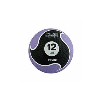 Champion Sports PRM12 12 lbs Rhino Elite Medicine Ball, Purple Champion Sports