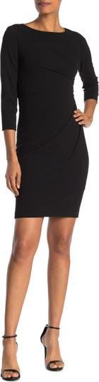 Платье-футляр с рукавами 3/4 Starburst Modern American Designer