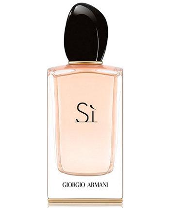 Si Eau de Parfum Spray, 3,4 унции Giorgio Armani