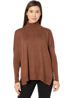 Свободный свитер с воротником под горло Fine Gauge Lilla P