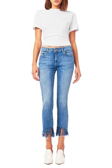 Mara Instasculpt джинсы с лодыжкой до щиколотки DL1961