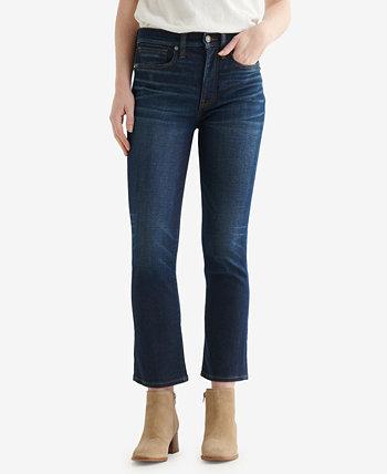 Женские прямые джинсы Zoe с высокой посадкой Lucky Brand