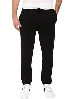 Спортивные флисовые штаны с эластичным отверстием для ног Lacoste