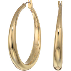 Серьги-кольца с градуировкой Ralph Lauren