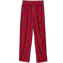 Молодежные красные пижамные штаны Tampa Bay Buccaneers Team Color Outerstuff