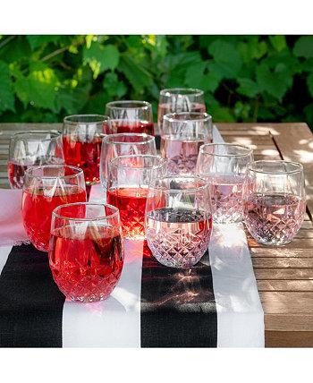 Бокал для вина без ножек Cristal D'Arques на 10 унций, набор из 12 шт. LONGCHAMP