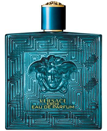 Спрей для мужчин Eros Eau de Parfum, 6,7 унций. Versace