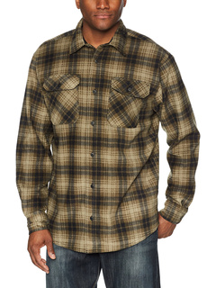 Пиджак-рубашка из флиса в клетку с длинным рукавом Wrangler