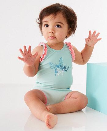 Купальник с подгузниками для плавания с подгузниками для маленьких девочек Splash About