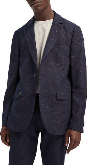 Эластичное спортивное пальто в клетку Scotch & Soda Classic Fit SCOTCH AND SODA