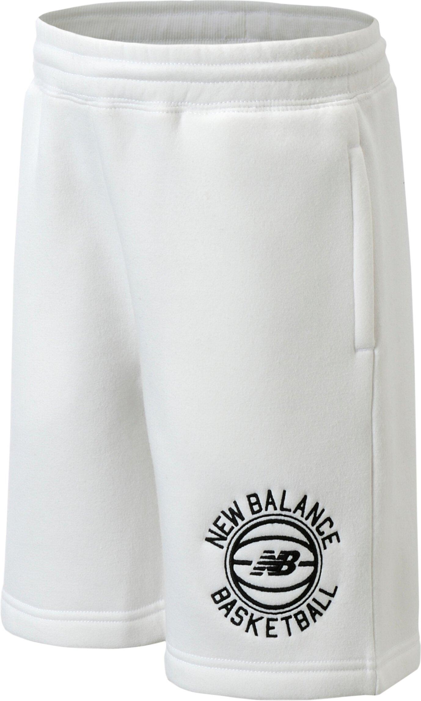Флисовые шорты с обручем (для больших детей) New Balance Kids