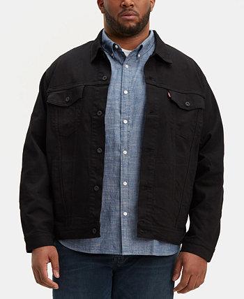 Мужская куртка Big & Tall из эластичной джинсовой ткани Levi's®