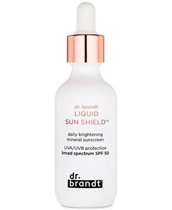 Жидкий солнцезащитный крем SPF 50, 1,7 унции. Dr. Brandt