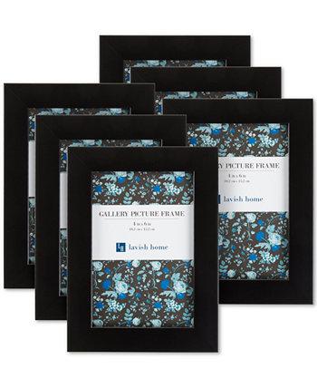 """6 шт. Набор настенных картинных рамок 4 """"x 6"""" Trademark Global"""