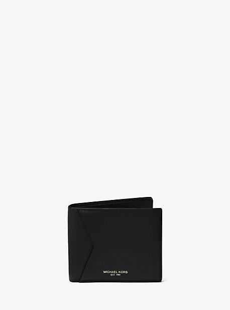 Кошелек Bryant с галечным кожаным принтом Michael Kors