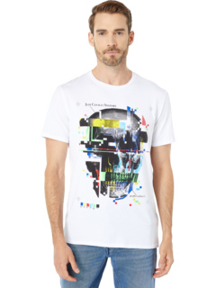 Video Skull Graphic T-Shirt Just Cavalli