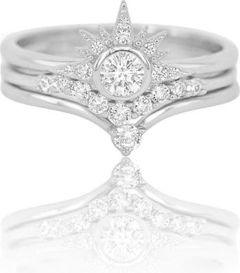 Наборные кольца Alexis CZ - размер 3 Melinda Maria