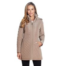 Women's Gallery Faux-Fur Hood Quilted Jacket Gallery