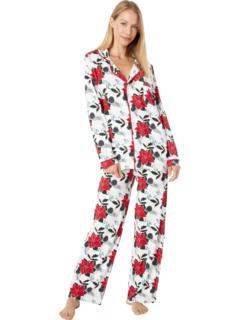 Пижамный комплект с воротником KicKee Pants