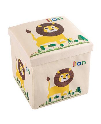 Верхняя часть подушки складная коробка для игрушек и осман Trademark Global