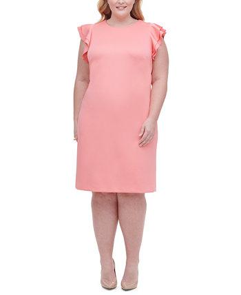Платье-футляр с длинными рукавами Tommy Hilfiger