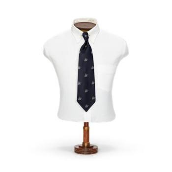 Размер галстука из шелкового жаккарда со шлейфом RRL ручной работы Ralph Lauren
