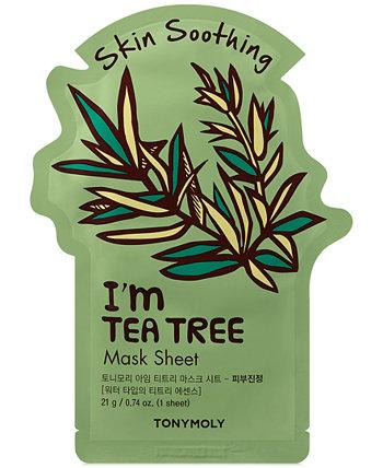 Тканевая маска I'm Tea Tree - (успокаивающая) TONYMOLY