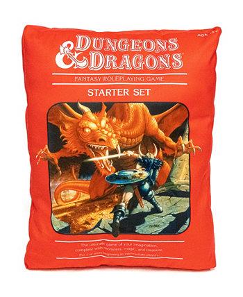 Подушка в форме красной коробки, 17 x 13 дюймов Dungeons & Dragons