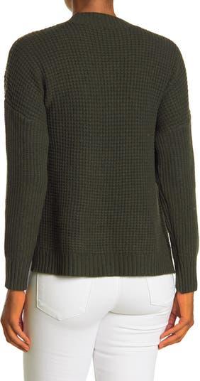 Свитер-пуловер с вафельными швами спереди Sweet Romeo